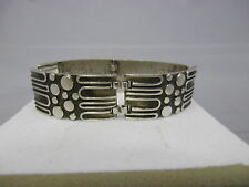 70er diseño pulsera plata 835 fineza
