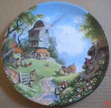 Coalport Collector Plate THE WINDMILL From THE TALE OF A COUNTRY VILLAGE