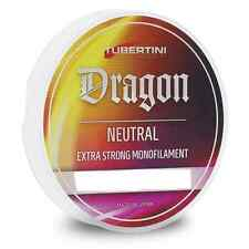 MONOFILO TUBERTINI DRAGON NEUTRAL 100 MT 0,30 mm FILO PESCA MULINELLO FINALI