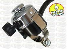 CHROME HORN / DIP SWITCH IDEAL FOR CHOPPER BOBBER / CUSTOM /CLASSIC MOTORCYCLES