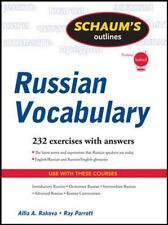 Schaum's Outline of Russian Vocabulary Schaum's Outlines