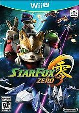 Star Fox Zero (Nintendo Wii U, 2016) Bonus StarFox Guard Included