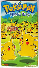 Pokemon vol. 12: Pikachu Party VHS Tape Anime Movie in it's Cardboard Case