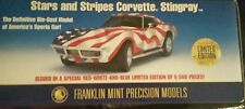 FRANKLIN MINT 1969 CORVETTE 427 STARS & STRIPES LE9500 B11B803 MIB FACTORY FRESH