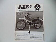 advertising Pubblicità 1975 MOTO ASPES NAVAHO P6 50 CS