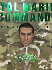 "DAMTOYS Royal Marines Commando 12"" Head Sculpt loose 1/6th scale"