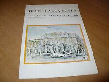 TEATRO ALLA SCALA STAGIONE LIRICA 1967-1968 LA FIGLIA DEL REGGIMENTO L.PAVAROTTI