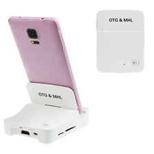 OTG adattatore HDTV MHL a HDMI For Samsung Galaxy S3 S4 Note 2 Note 3 UK