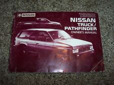 1988 Nissan Pathfinder Owner Owner's User Guide Operator Manual SE XE 3.0L V6