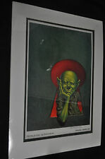 Martians Go Home Signed Print by Kelly Freas - Astounding, September 1954 ITB WH