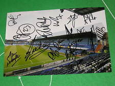 Portsmouth FC 2013/14 Squad Signed x 16 Fratton Park Stadium Press Photograph