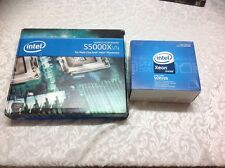 Intel motherboard S5000XVN and CPU 2GHz processor bundle