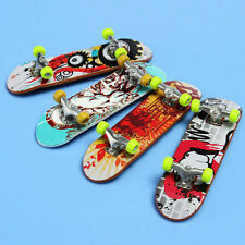 Fun Mini Skate Finger Board Skateboards Miniature Toy Children Kids'
