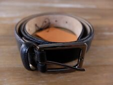 auth TOD'S Tods black leather belt - Size 90 (fits size 34 waist best) - NWT