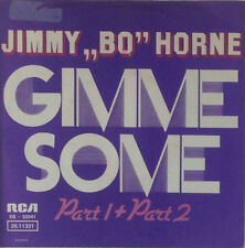 "7"" Single - Jimmy Bo Horne - Gimme Some (Part 1 + Part 2) - s154"