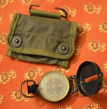 vintage WWII era compass Corps of Engineers US Army with case Superior Magneto
