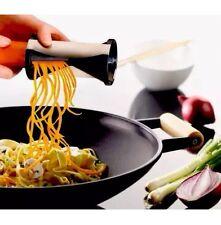 Espiral Embudo forma rebanadores Triturador De Verduras Y Zanahoria, Pepino Cocina Plato Frío