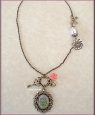 BLOOM VINTAGE NECKLACE BY KELLY RAE ROBERTS FASHION JEWELRY FREE U. S. SHIPPING