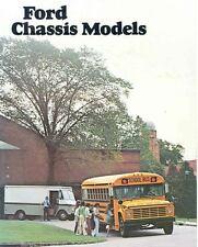 1978 Ford School Bus Sales Brochure wf8380-YTB5ZU