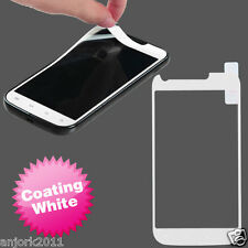 Samsung Galaxy S2 T989 T-Mobile Color Coating Screen Protector Film White