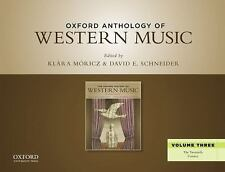 Oxford Anthology of Western Music Vol. 3 : The Twentieth Century by...
