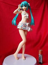 "MIKU HATSUNE VOCALOID SOLID PVC FIGURE Project DIVA F / 8"" 21cm SEGA UK SELLER"