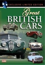 Great British Cars (New DVD 2009) Jaguar Aston Martin Austin MG Jensen Ford Mini