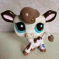 Littlest Pet Shop LPS #2217 Cow w/ Blue eyes - USA seller - 6 pictures