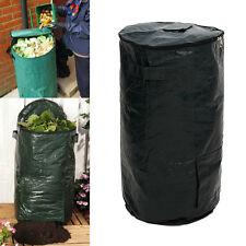 60L Garden Organic Waste Kitchen Compost Bag Cloth Planter