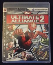 PS3 Game: Marvel-Ultimate Alliance 2!! Complete! Super Hero Action!