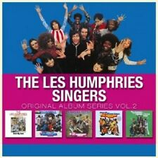 LES HUMPHRIES SINGERS - ORIGINAL ALBUM SERIES VOL.2 5 CD NEU
