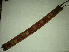 ANTIQUE c. 1770 – 1800 REVOLUTIONARY WAR ERA RIFLEMAN / HUNTER WOVEN BELT vafo