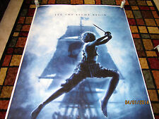 GIANT Promo Vinyl Movie Poster Disney Peter Pan Banner 1st Press Proof Signed