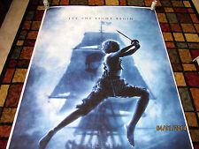 GIANT Promo Vinyl Movie Poster Disney Peter Pan Banner 1st Press Proof Signed