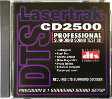 DTS Surround Sound Setup, Test  &  REFERENCE DISC CD LASERTRAK  CD2500  NEW