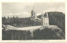 MONTAGNAGA DI PINE' - MONUMENTO AL REDENTORE - BASELGA (TRENTO) 1935