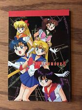 Sailor Moon Vintage Seika Note Black Notepad