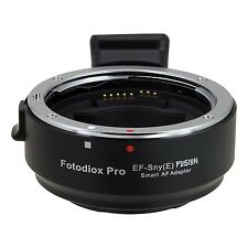 Fotodiox EF-Sny(E) Fusion Smart AF Lens Mount Adapter Canon EOS EF EF-S Lens ...