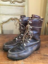 VTG St Moritz Mountaineering Climbing Military Hiking Boots Mens 10 RARE!!!