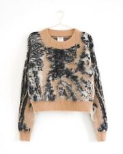 HOF115: H&M Studio Strickpullover wolle mohair / Wool-blend short jumper 36 UK10