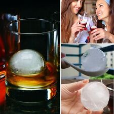 4PC Big Ice Ball Cube Freeze Mold Bar Party Drink Ice Candy Chocolate Tray Maker