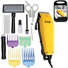 11PC PROFESSIONAL PET DOG CLIPPERS GROOMING KIT ANIMAL HAIR TRIMMER CLIPPER NEW