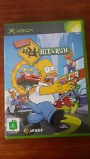 Simpsons Hit and Run & (Microsoft Xbox) Complete VGC Full Art Rare