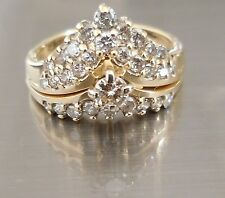 14K  Yellow Gold (5.22 Grams) .70 CTS Diamonds Engagement/Wedding Ring
