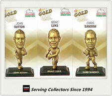2009 Select NRL Gold Figurine Collectable Trading CARDS team Set Rabbitohs (3)