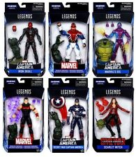 MARVEL LEGENDS CAPTAIN AMERICA CIVIL WAR WAVE BAF ABOMINATION COMPLETE SET OF 6