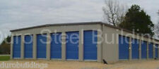 DURO Steel Mini Self Storage 40x120x8.5 Metal Prefab Building Structures DiRECT
