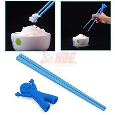Children's Plastic Chopsticks Helper Training Learning Happy Fun Boy Beginner