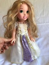 "disney rapunzel doll 15"" Princess Long Hair Dress"