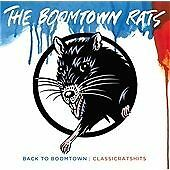 "THE BOOMTOWN RATS "" BACK TO BOOMTOWN CLASSICRATSHITS "" CD"